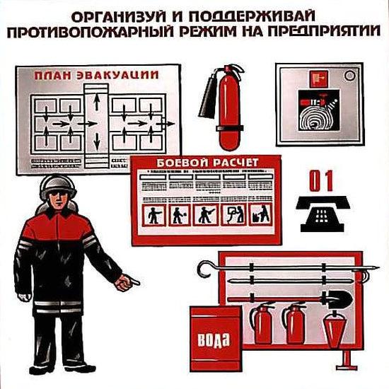 Разработка документов по противопожарному режиму